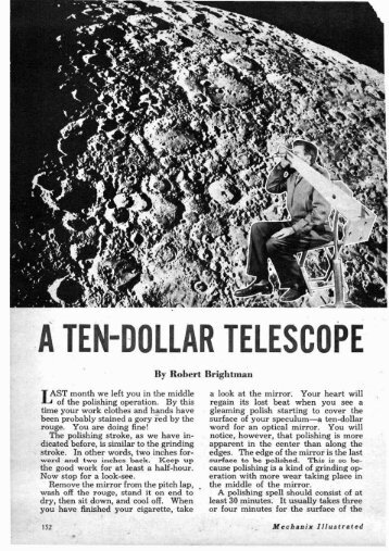 OLLAR TELESCOPE - Vintage Projects