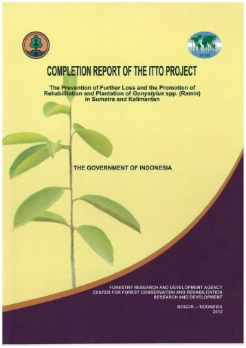 COMPLETION REPORT OF THE ITIO PROJECT - ITTO