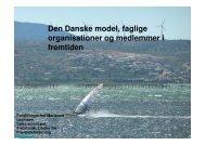 Den Danske model, faglige organisationer og medlemmer i fremtiden