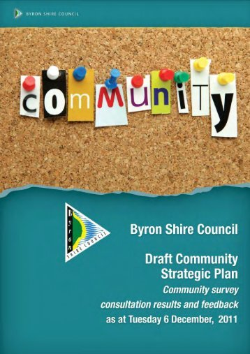 Consultation Feedback - Byron Shire Council - NSW Government