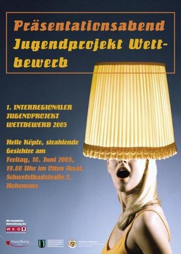 Präsentationsabend Jugendprojekt Wett- bewerb - Raritaeten Rallye