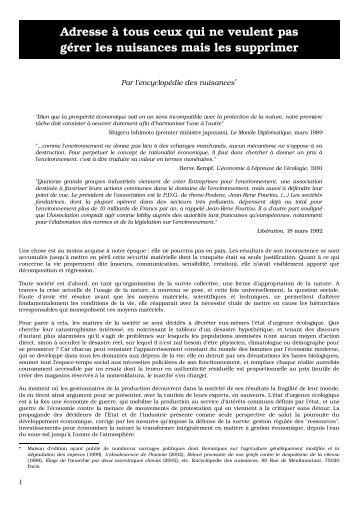 Nuisances.pdf PDF a4