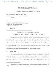 Report & Recommendation on Plaintiff's Motion for Class Certification