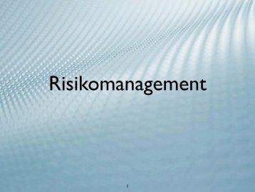 Risk Management - BA