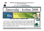 Zpravodaj – květen 2008 - PRO-BIO regionální centrum Krkonoše a ...