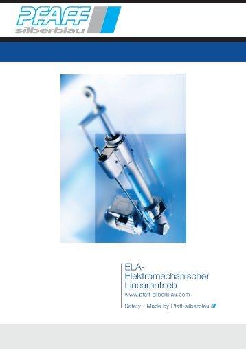 ELA- Elektromechanischer Linearantrieb - Mijnsbergen