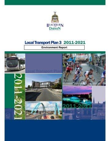 Environment Report - Blackburn with Darwen Borough Council