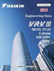 VRV III Heat Recovery (208-230V) - Daikin AC