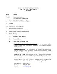 Zoning Board of Appeals Agenda May 2, 2013 - City of West Palm ...