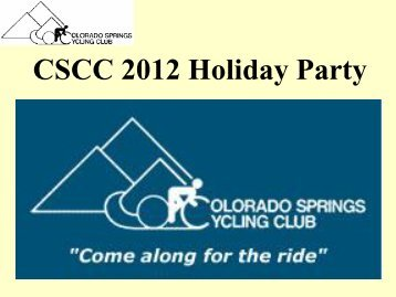 CSCC 2012 Summary.pdf - Colorado Springs Cycling Club