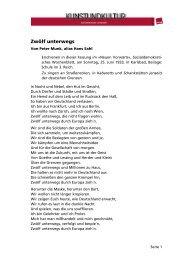 Zwölf unterwegs - Fachbereich Medien, Kunst und Industrie - Ver.di