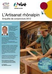 L'Artisanat rhônalpin - Chambre régionale des Métiers