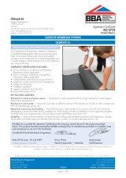 Oldroyd Xv BBA certificate - Safeguard Europe Ltd.