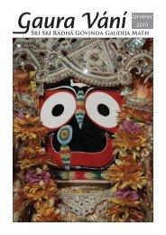 červenec 2010 - Sri Sri Radha Govinda Mandir