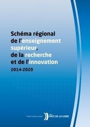 Schéma régional de l'enseignement supérieur, de la recherche et ...