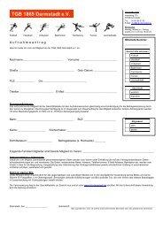 Download Beitrittsformular 2011 - TGB 1865 Darmstadt e.V.