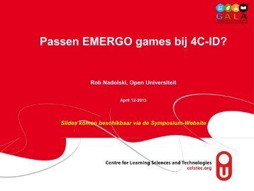 EMERGO games - DSpace at Open Universiteit - CELSTEC