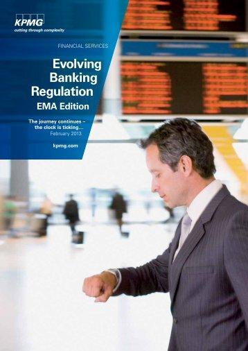 Evolving Banking Regulation EMA Edition - KPMG