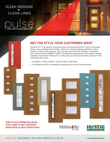 pulse® - Huttig Building Products
