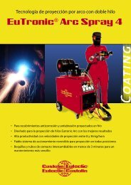 Eurotronic® Arc Spray 4. - Metalia