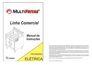 Manual Fritadeira Elétrica - Grupo NestIs
