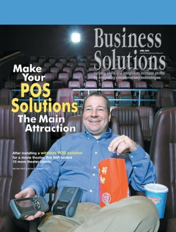After installing a wireless POS solution - Epson POS Printers