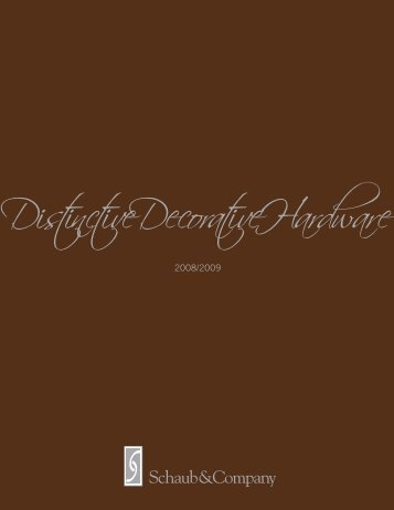 DistinctiveDecorativeHardware