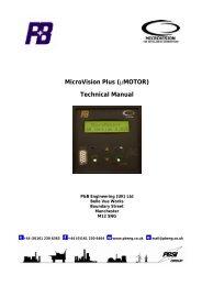 (µMOTOR) Technical Manual - PBSI Group Ltd
