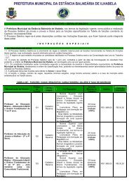 PROCESSO SELETIVO – EDITAL Nº 002/2010 - Instituto Mais