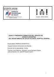 APARATO DIGESTIVO 6-3-13 - Agencia Valenciana de Salud