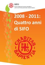 2008 - 2011: quattro anni di SIFO