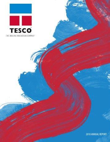 2010 ANNUAL REPORT - TESCO Corporation