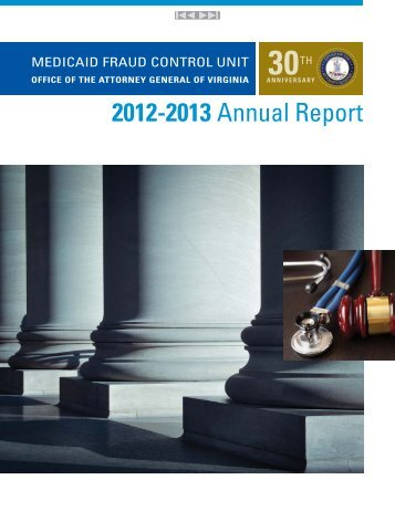 2012-2013 Annual Report - Virginia Attorney General