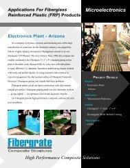 Electronics Plant - Fibergrate Composite Structures Inc.