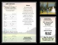 Golf Brochure.pub - Dutchess Community College