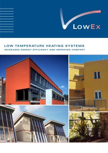 LOW TEMPERATURE HEATING SYSTEMS - ZUB