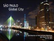 SÃO PAULO Global City - Brazil-US Business Council