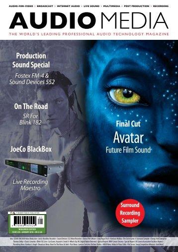 Avatar - Audio Media
