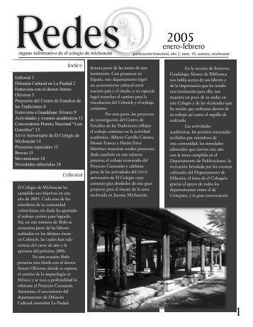 Año 2, núm. 10, enero-febrero de 2006 - Regresar a la página ...