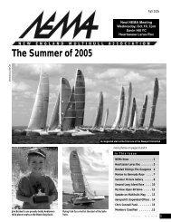 Fall 2005 - New England Multihull Association