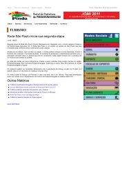 Portal da Prefeitura de Pindamonhangaba Segunda etapa do Roda ...