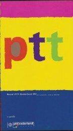 Royal PTT Nederland N.V., Art & Design, past and present, a guide. 1992