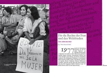 Bekämpfung von extremer Armut und Hunge ... - Deutscher Frauenrat