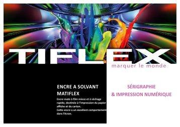 Télécharger notre fiche produit (PDF, 320 Ko) - Tiflex
