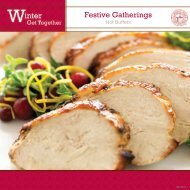 to view our Winter Catering Menu
