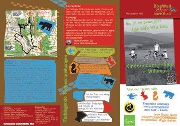 Flyer zum Kids Mountainbike Netz