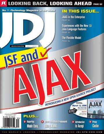JDJ 11-1 Jan.indd - sys-con.com's archive of magazines - SYS-CON ...