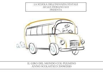 Prog.intercultura: Giro del mondo col pulmino Scuola dell'infanzia ...
