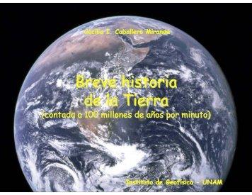 Breve historia de la Tierra
