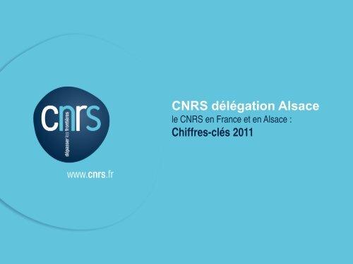 Chiffres-clés 2011 version française - CNRS Alsace